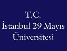 İstanbul 29 Mayıs Üniversitesi Logo